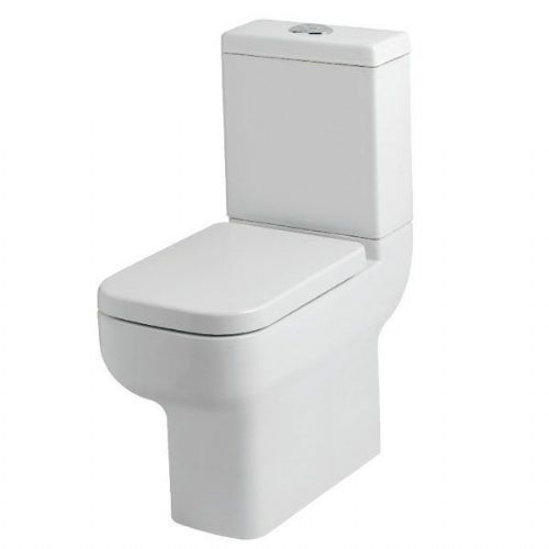 Kartell Options Comfort Height Close Coupled Toilet - Cistern - Soft Close Seat - White